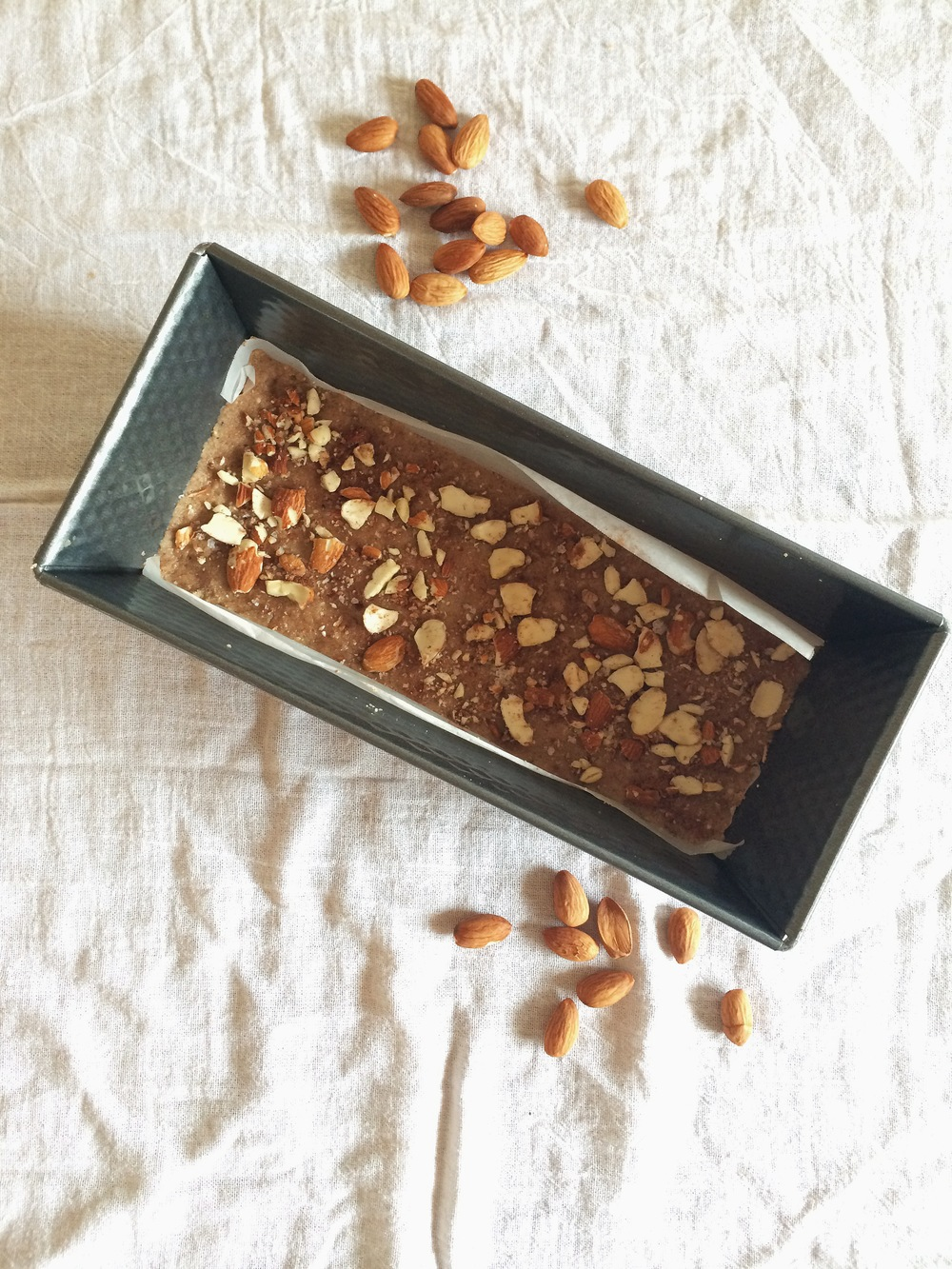 Cinnamon Almond Fudge - gluten free, grain free, vegan - My Natural Kitchen