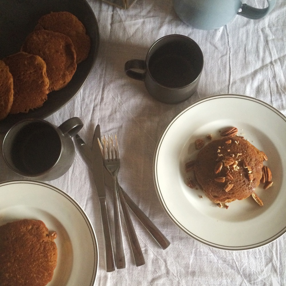 Spiced Pumpkin Pancakes (gluten free & vegan) from My Natural Kitchen