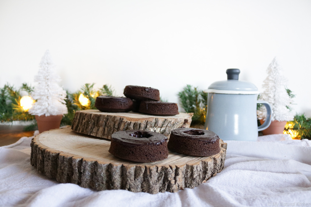 Gluten Free Vegan Chocolate Donuts @mynaturalkitchen