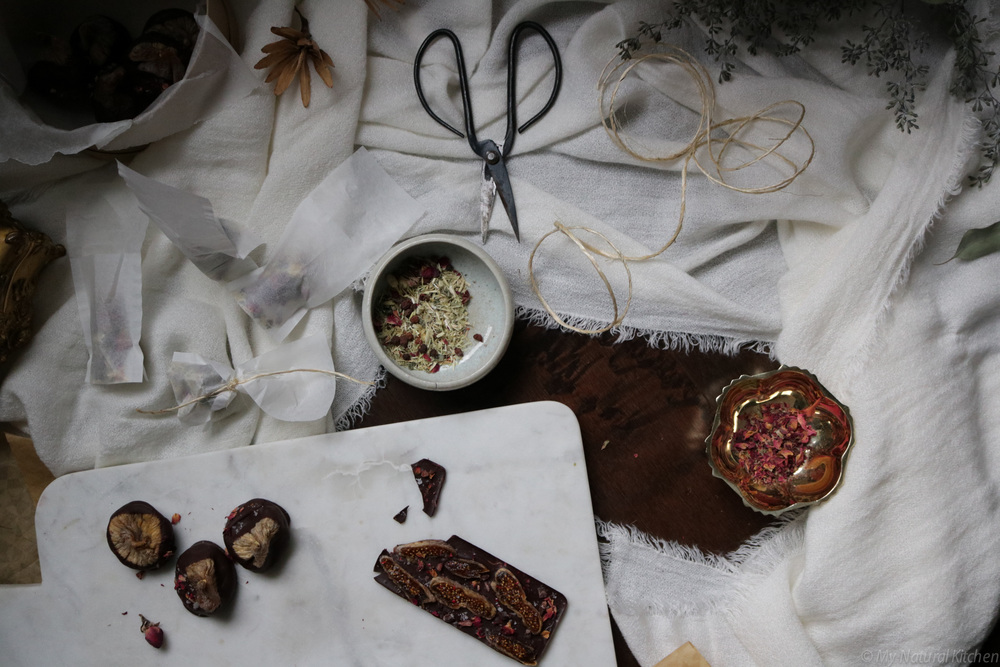 chocolate dipped figs + edible gifts by My Natural Kitchen