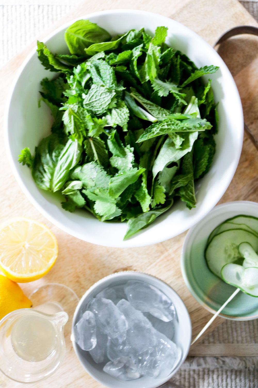Herbal Blended Lemonade