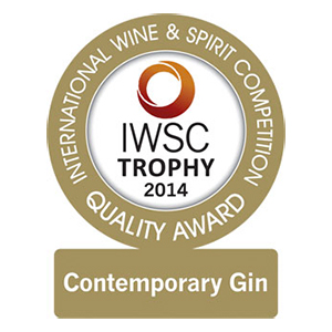 Glass Trophy /  Gold Outstanding (Contemporary Gin)