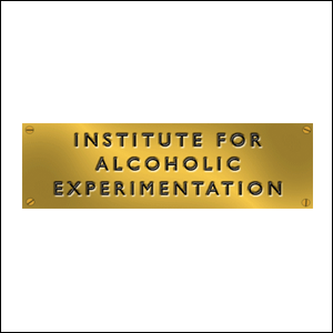 The Institute for Alcoholic Experimentation, 11/10/2014