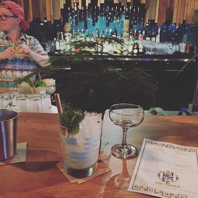 Plants & Gin served with #tikilove @navystrengthseattle all night! Bring the sweet plants & get some Big Gin!  #seattle #tiki #navystrength #belltown #belltownseattle #allnightlong
