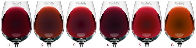 Red Wine Color Palette