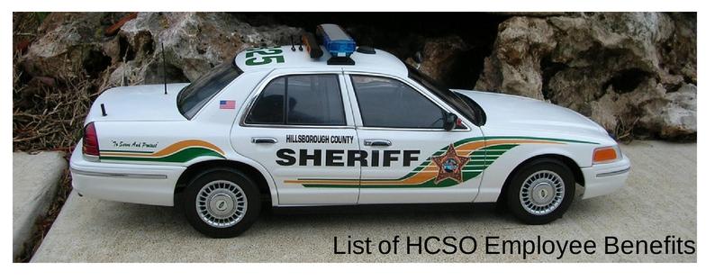 LIST OF HCSO EMPLOYEE BENEFITS