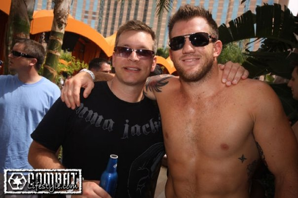 Author Chris Storace and Ryan Bader