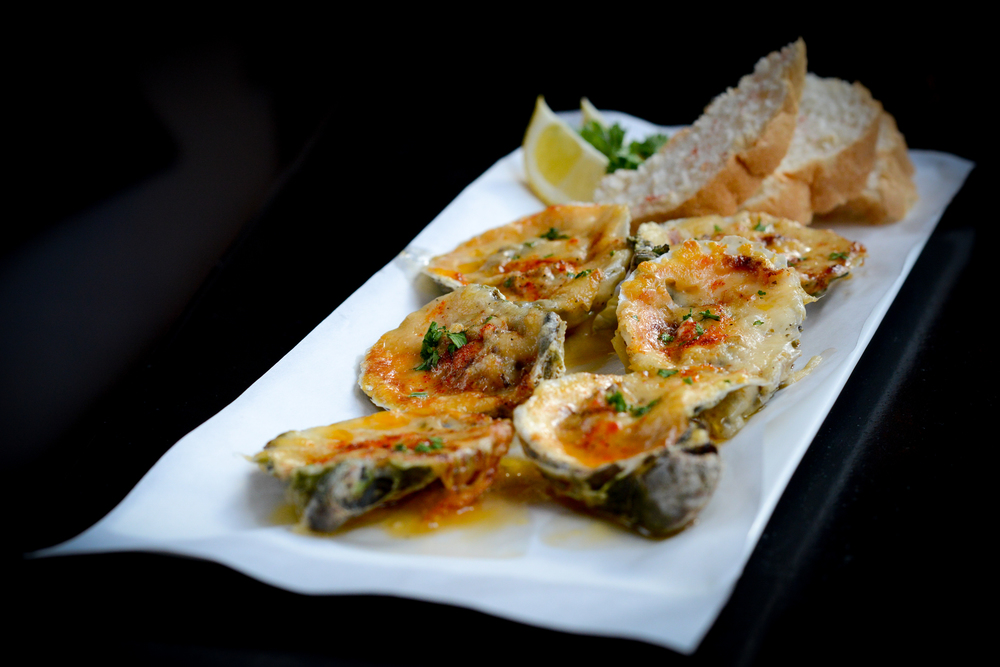 Char-Baked Oysters