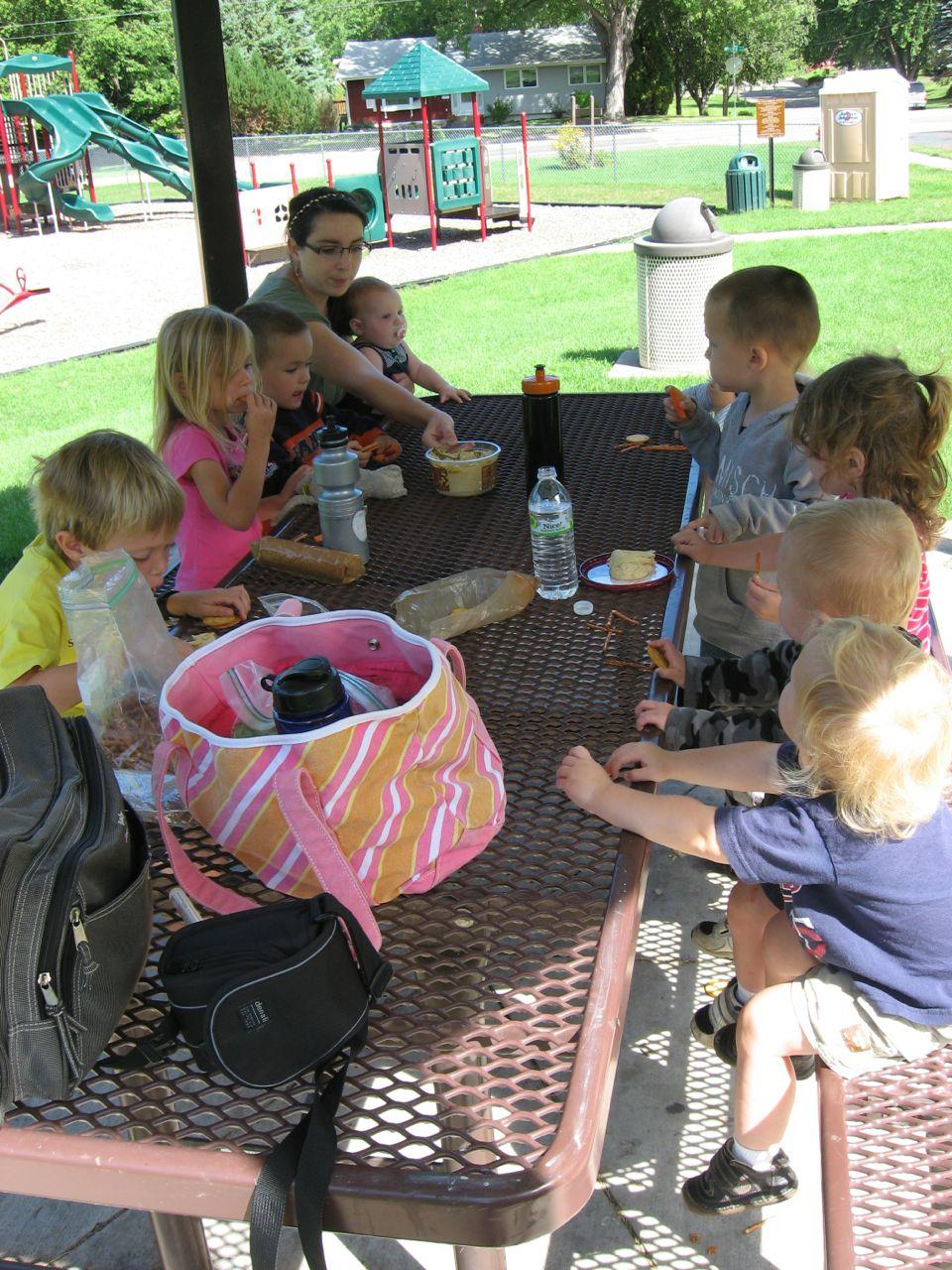 9 kids + 2 adults = ?!
