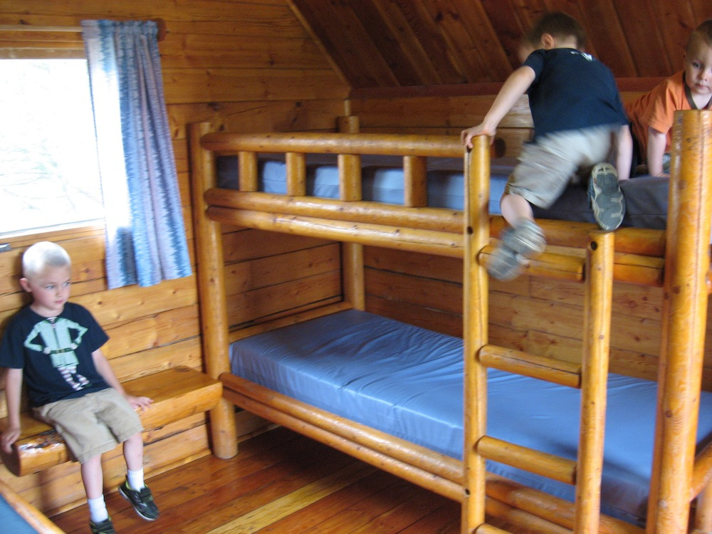 Bunks in Kabin!