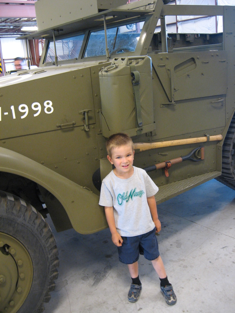 Fisher and the Half-Track