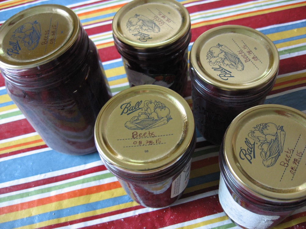Yeah, pickled beets