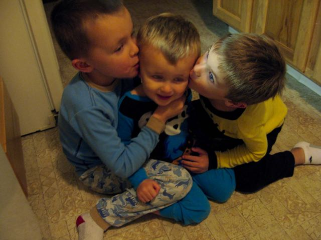 Kissing Tad