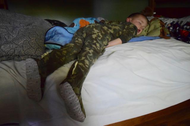 Sleepy Dinosaur Tad