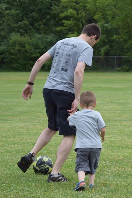 "Tad & Dad ""Soccer Camp"""