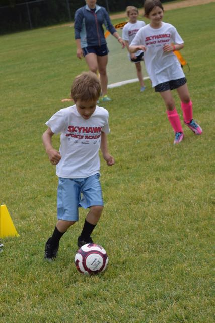 And now for the REAL soccer camp...