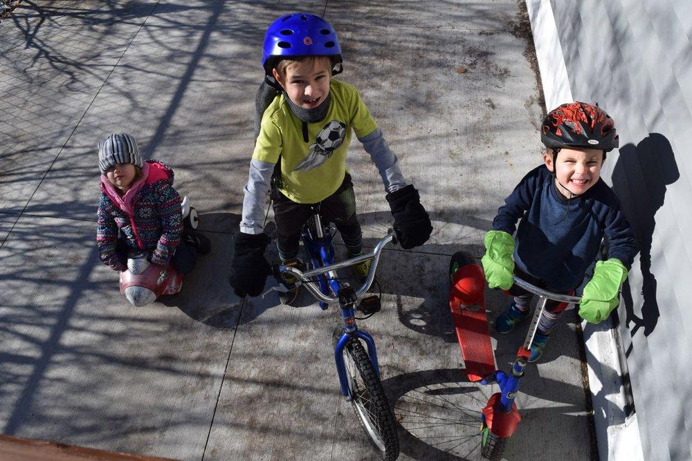 Winter biking...also normal?