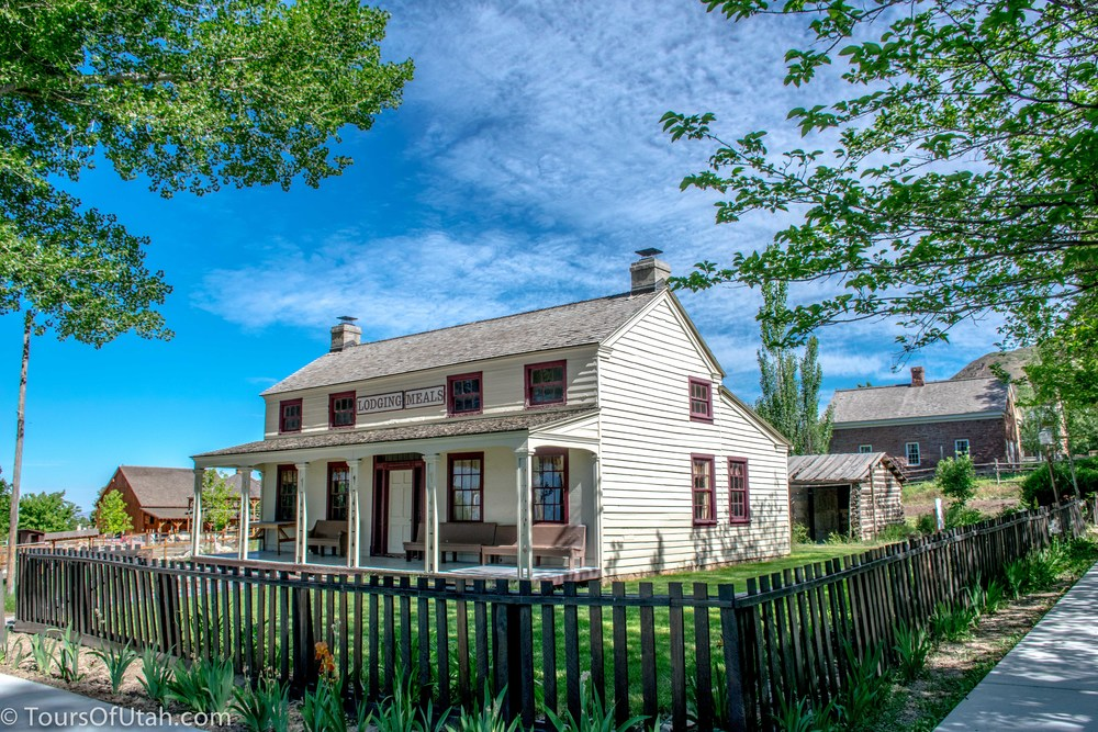 Mormon Pioneer Village Tour