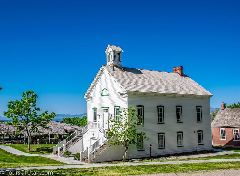 Mormon Pioneer historic church