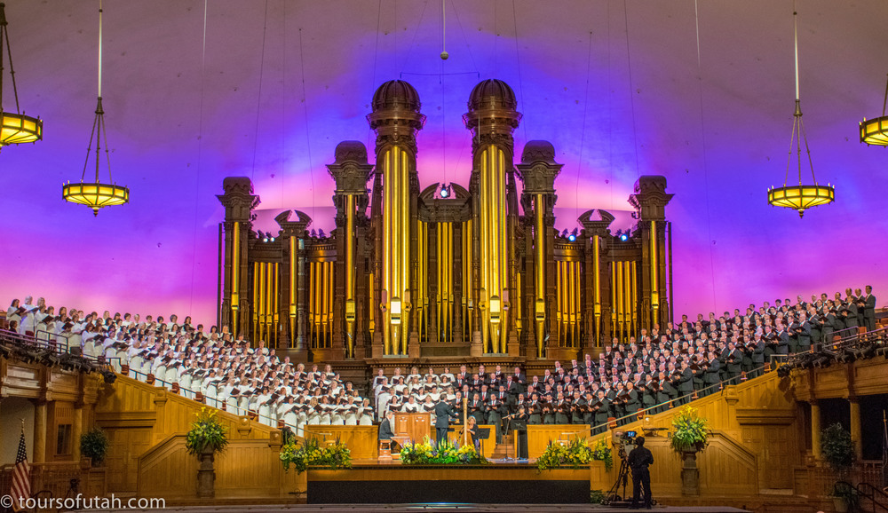 Mormon Tabernacle Choir Concert on Salt Lake City Tour