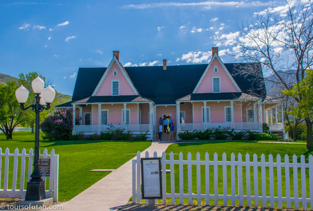 Brigham Young Farmhouse Salt Lake City Tour