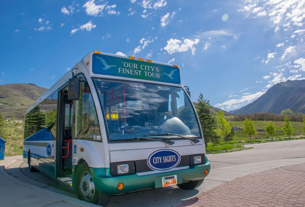 Salt Lake Sightseeing Tour Bus