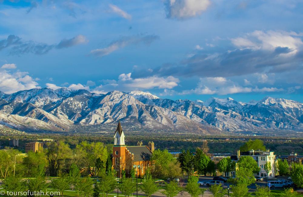 Salt Lake City Tour photo spots of mountains