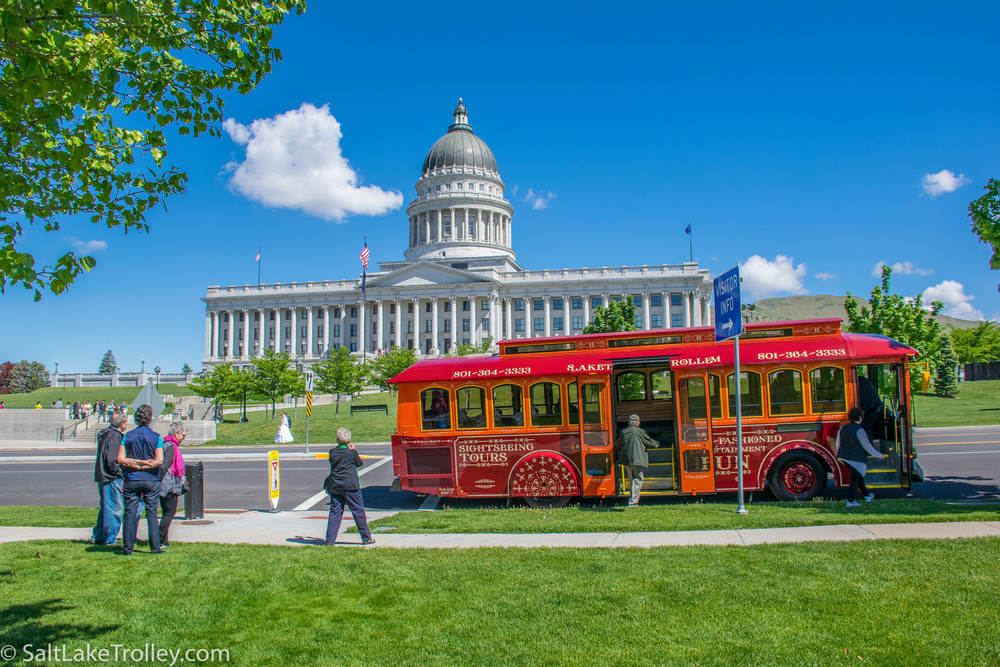 Salt Lake Trolley Tour 2016