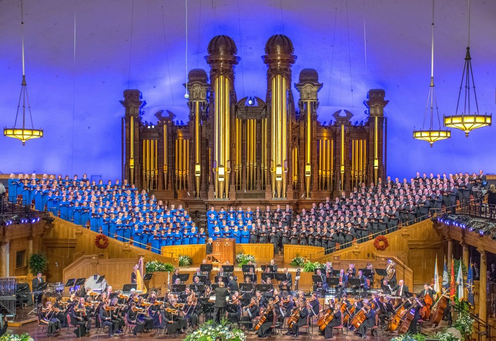 Mormon Tabernacle Choir & Deluxe City Tour