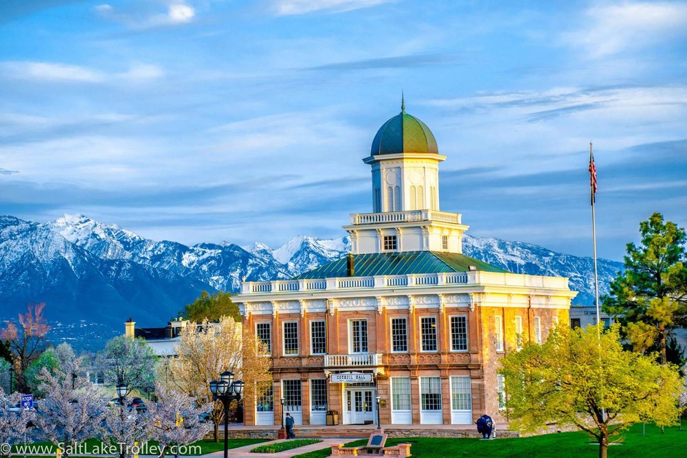 Council Hall in Salt Lake City