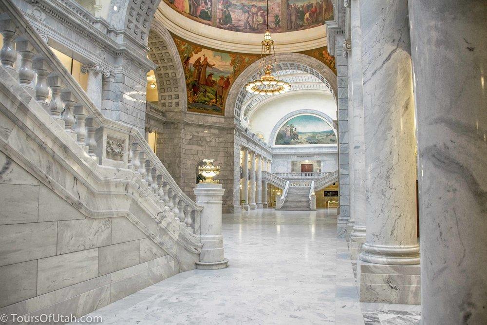 Rotunda of Utah Capitol