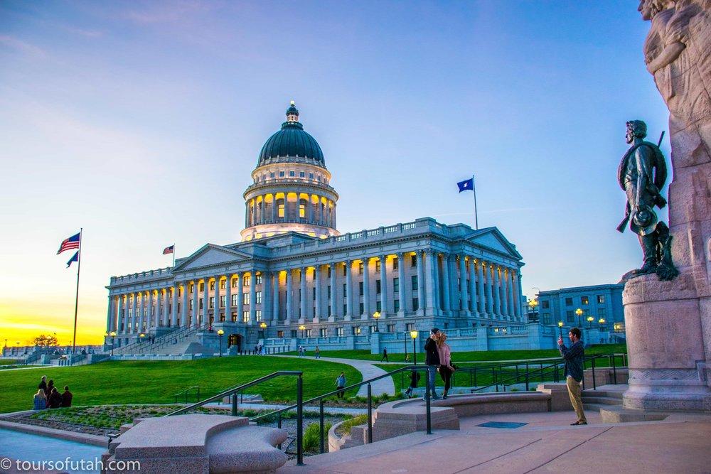 Utah capitol tourist attraction