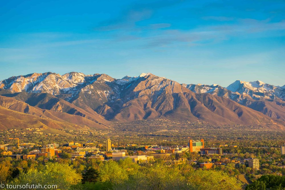 Views of Salt Lake City