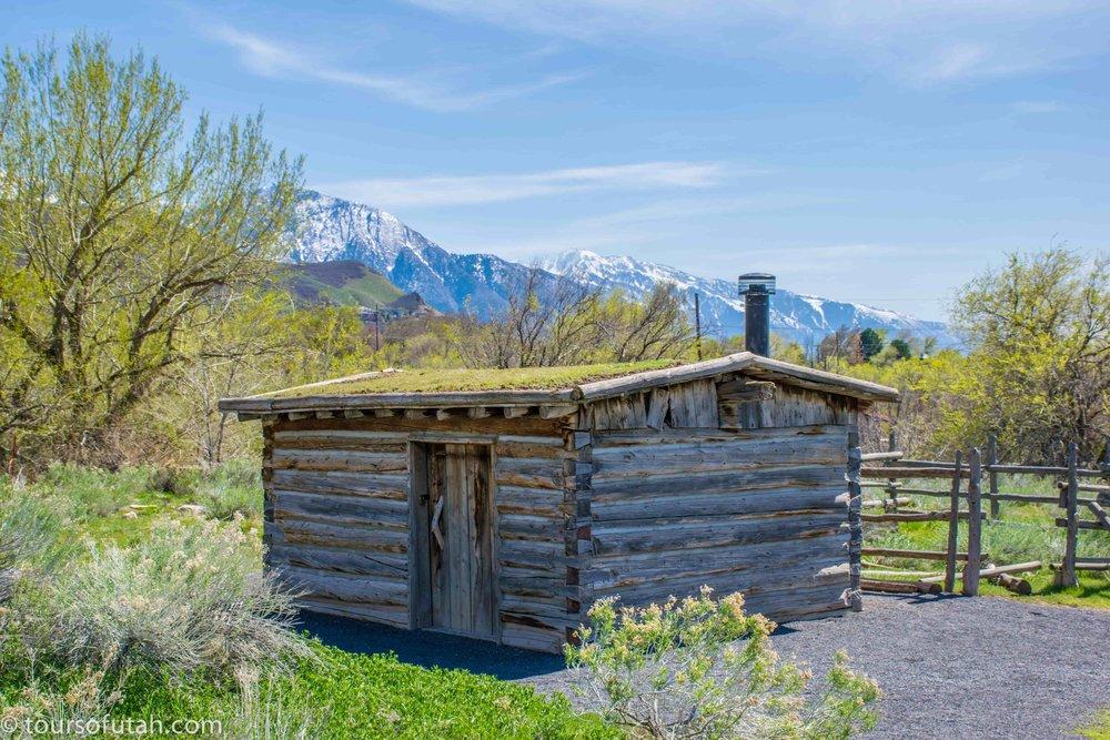 Salt Lake Pioneer cabin