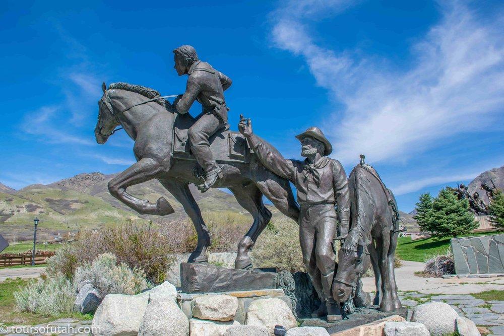 Pony Express Monument Salt Lake City
