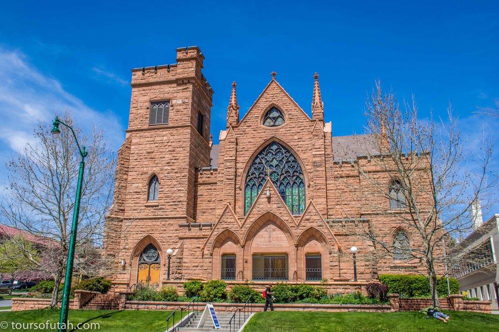 Historic church of Salt Lake City