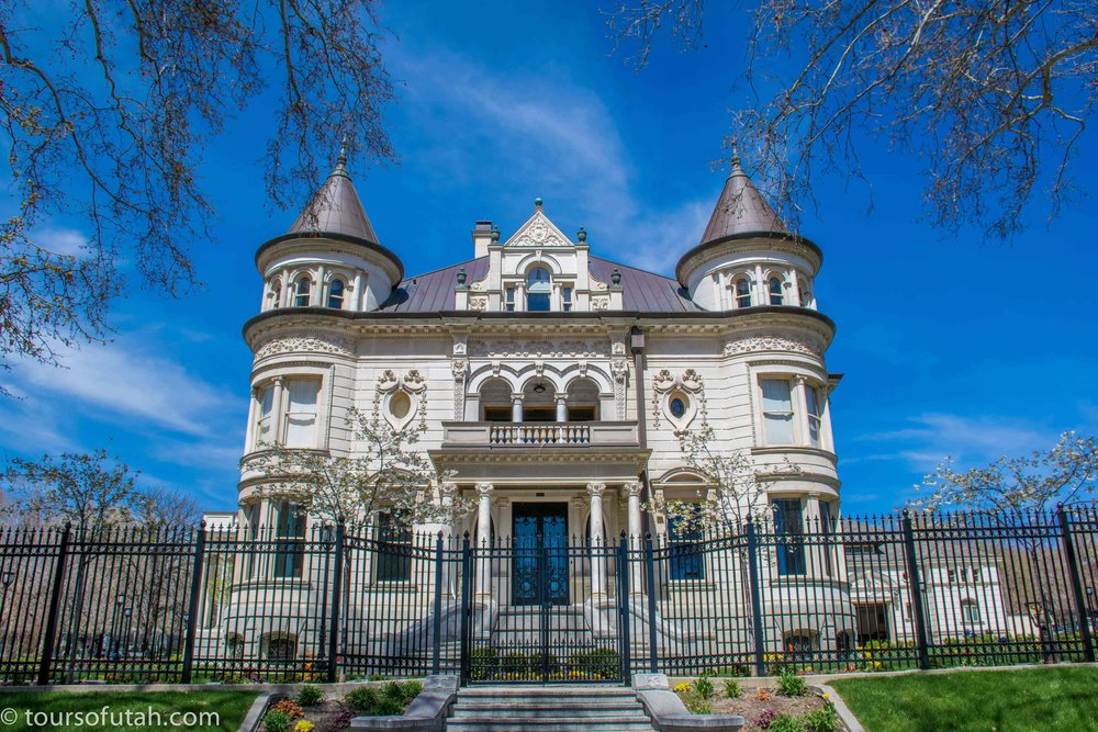 Utah governor mansion Salt Lake City sightseeing bus tour.jpg