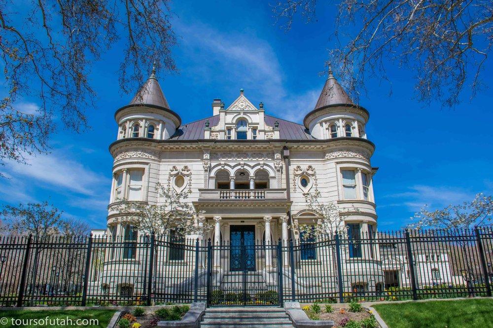 Utah Governor's Mansion on tour