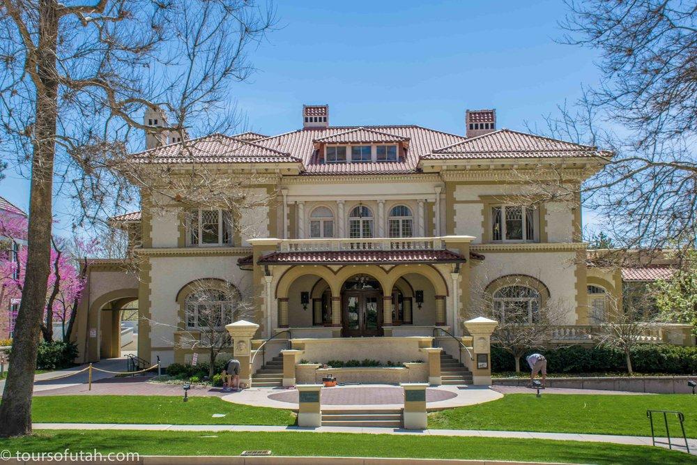 Historic mansions of Salt Lake City