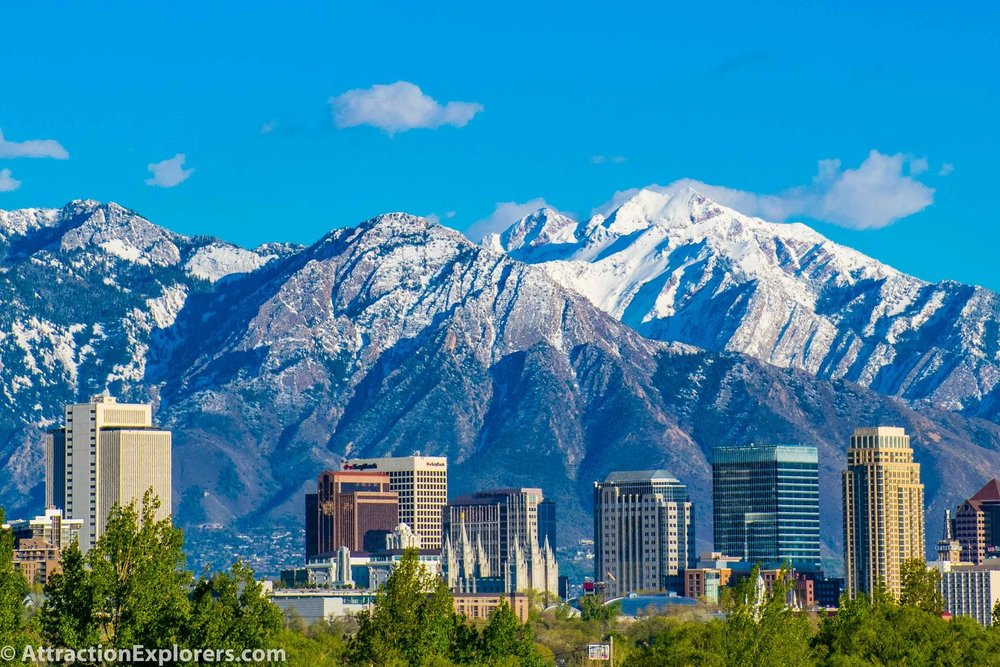 Private tours of Salt Lake City and Great Salt Lake for 1-4 passengers with Attraction Explorers