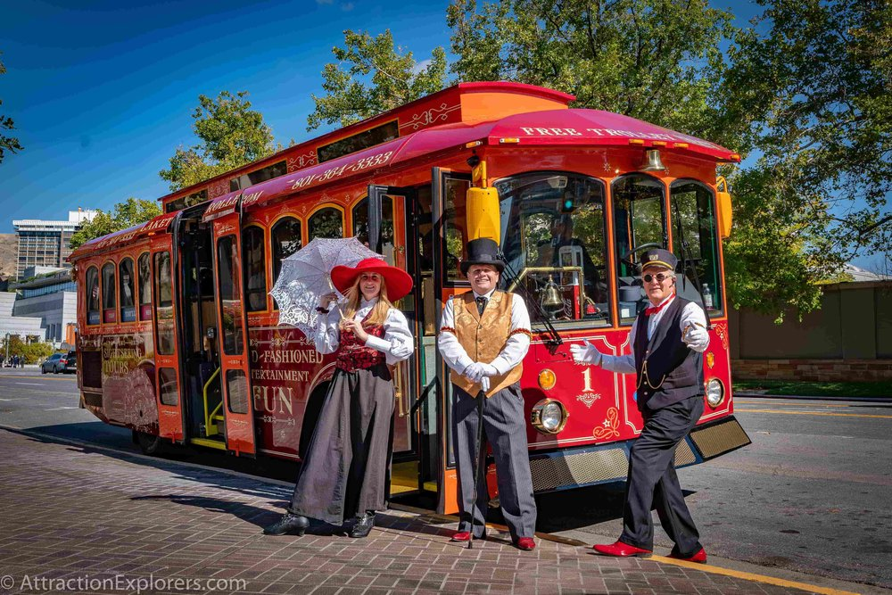 Trolley Time Travel Ride