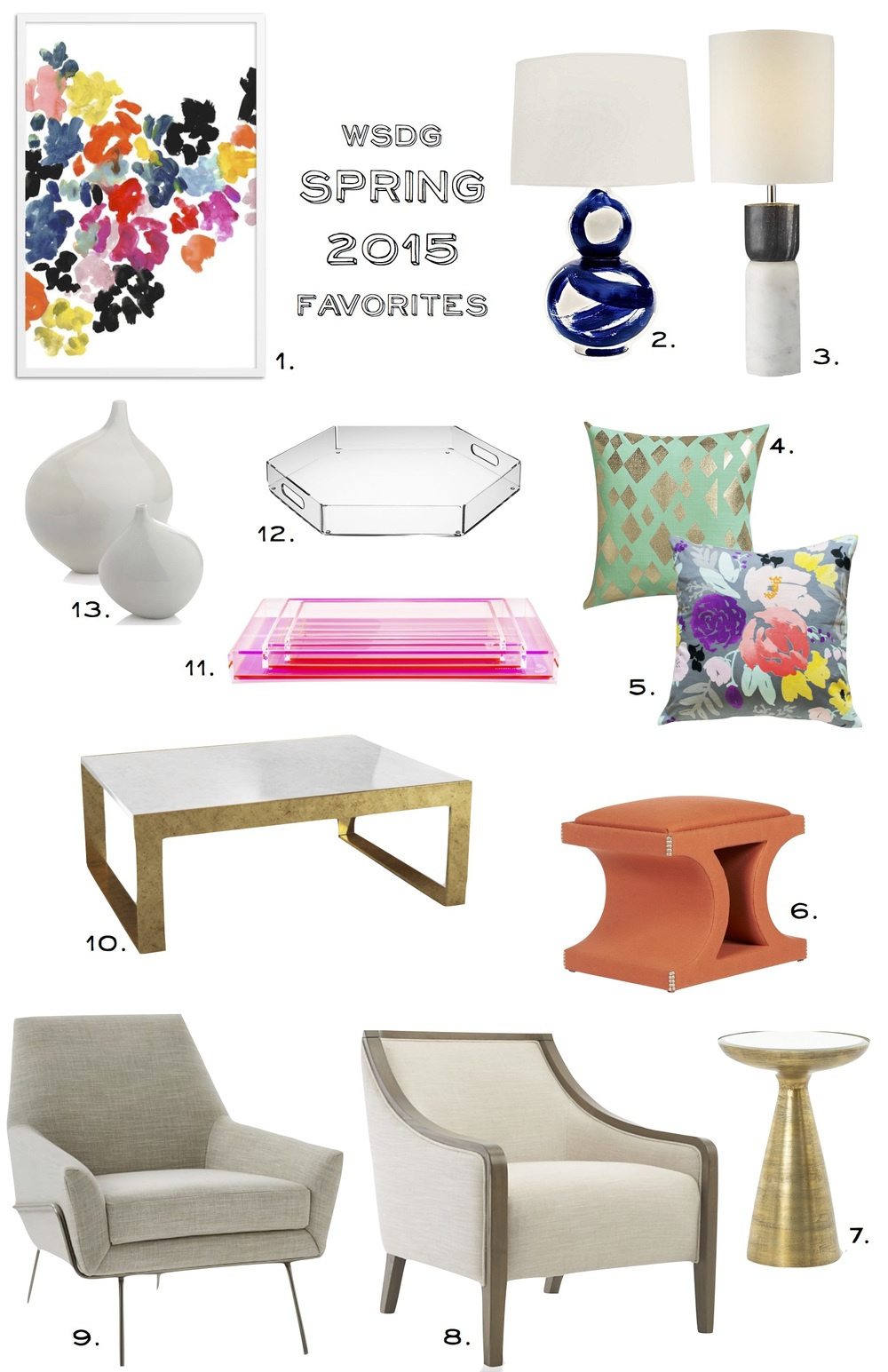 Whitestone Design Group Spring 2015 Favorites #whitestonestyle