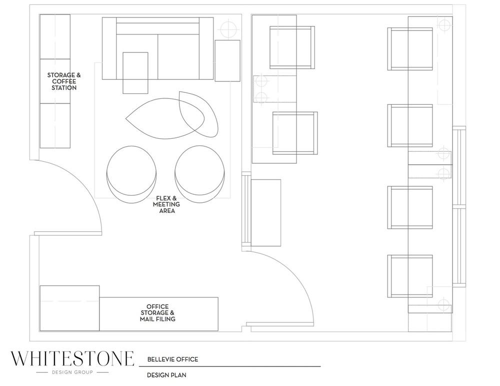 Whitestone Design Group - Modern Office Design Plan