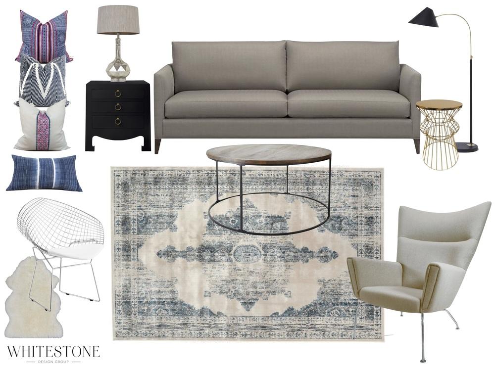 Whitestone Design Group | Design Plan | Katie's House | Interior Design | Seattle, WA