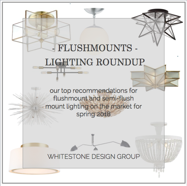 WSDG - Design Roundup | Flushmount Lighting | Blog
