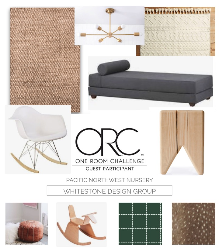 Whitestone Design Group | Pacific Northwest Nursery | One Room Challenge - WK 3