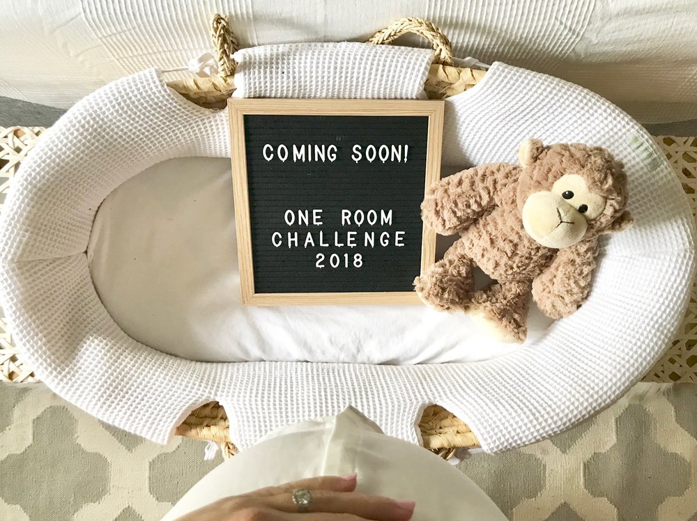Along with getting everything in place for this awesome One Room Challenge, this mama is busy getting everything ready in our home to welcome this new babe!
