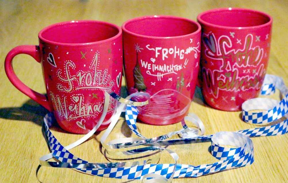 Hand-painted Glühwein Mug $6 Get it at PAULANER