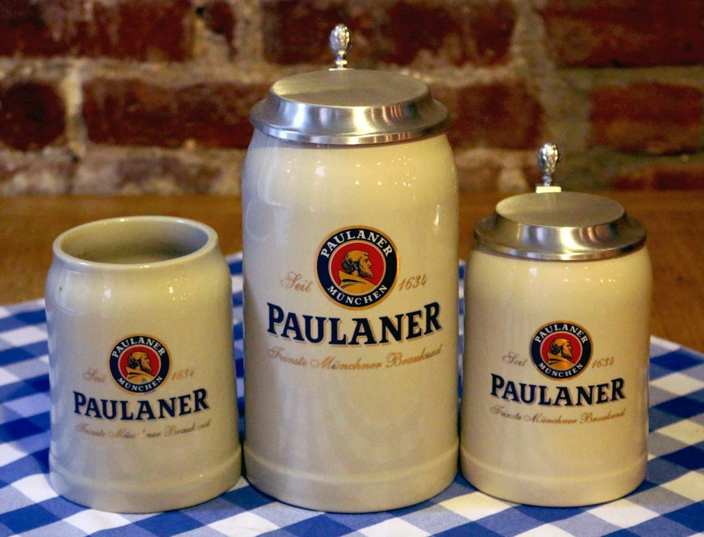 Ceramic Beer Jar 1l with lid / $35 Ceramic Beer Jar 0.5l with lid / $30 Ceramic Beer Jar 0.5l / $20 Get it a PAULANER