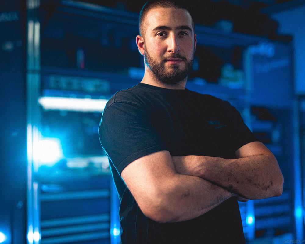 Charles B, Mechanic